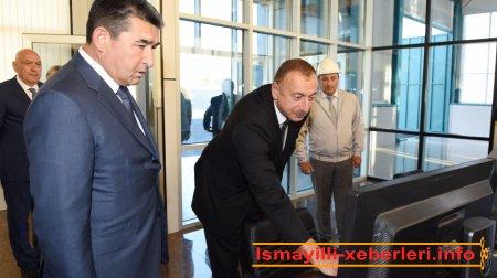 """""""İsmayıllı-2"""" Su Elektrik Stansiyası istifadəyə verilib"""