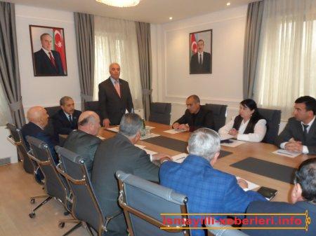 Yeni Azərbaycan Partiyası İsmayıllı rayon təşkilatında