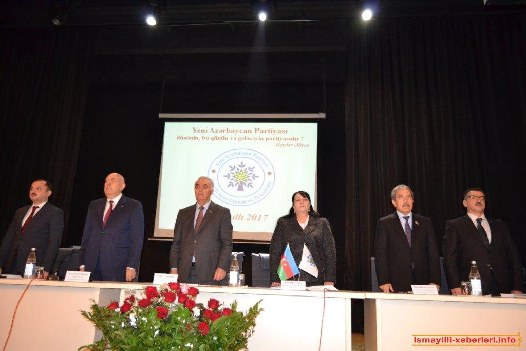 Исмаиллинской районной организации ПЕА провела конференцию IX