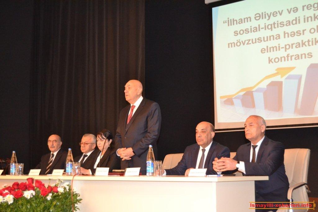 Темой конференции стало социально-экономического развития региона